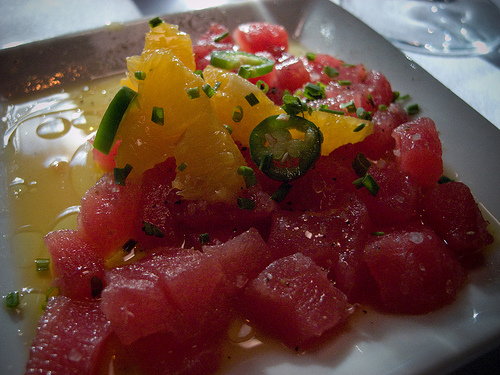 rathbun's tuna crudo